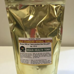 Brain Health Tonic - Gold Standard