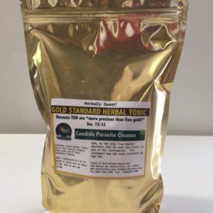 Candida Parasite Cleanse Tea/Tonic - Gold Standard